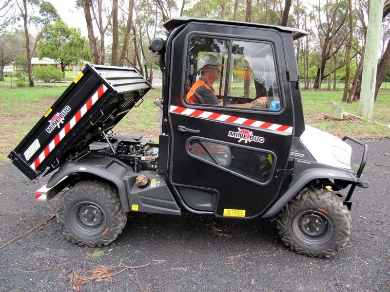 Mine Bug Underground Utility Vehicle