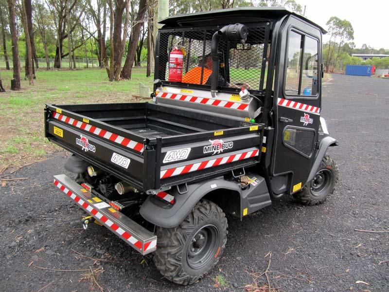 Mine Bug Underground Light Duty Utility Vehicle